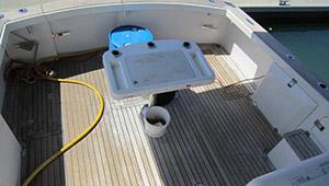 Deck Cleaning-Teak Treating